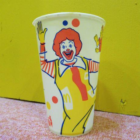 McDonald's Paper Cup Ronald