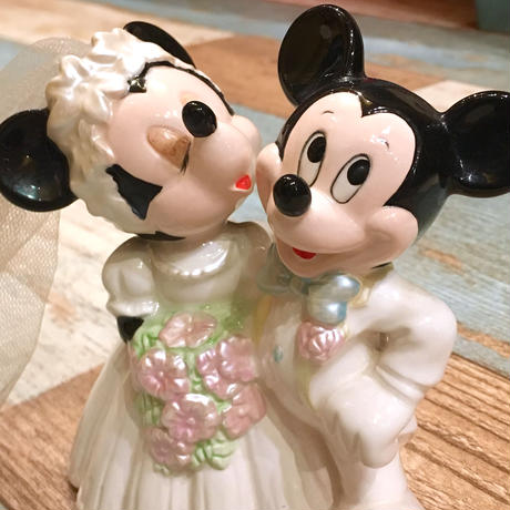 Mickey & Minnie Mouse Wedding figure