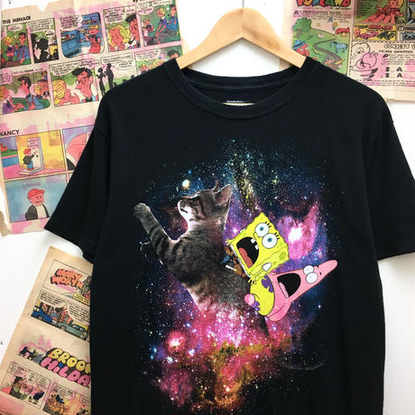 Sponge Bob Space Cat T-shirt