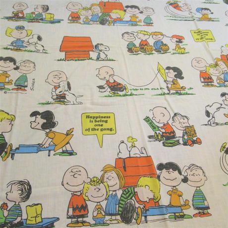 Peanuts Sheet