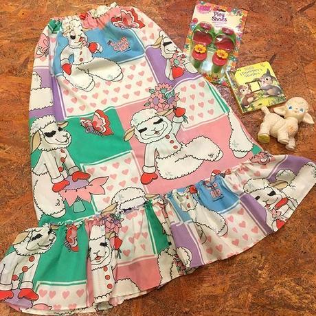 Lamb Chop Remake Skirt