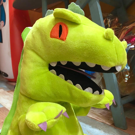 Rugrats Reptar Plush Back Pack