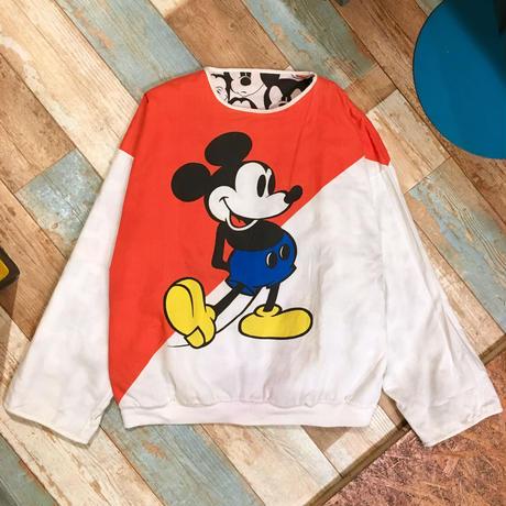 Mickey&Co. Reversible Sweat Orange