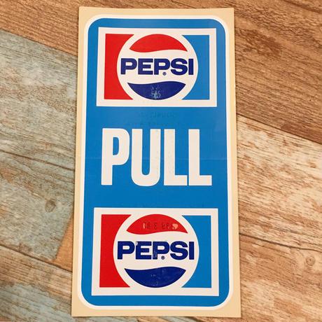 Pepsi Door Sticker A