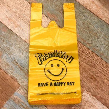 Vinyl Bag Smile Yellow (M)
