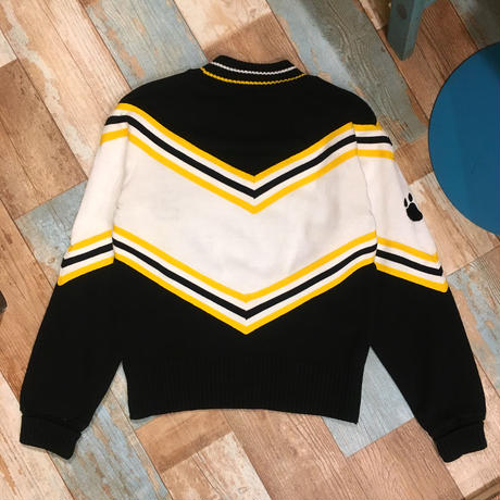 Cheerleader Knit Sweater