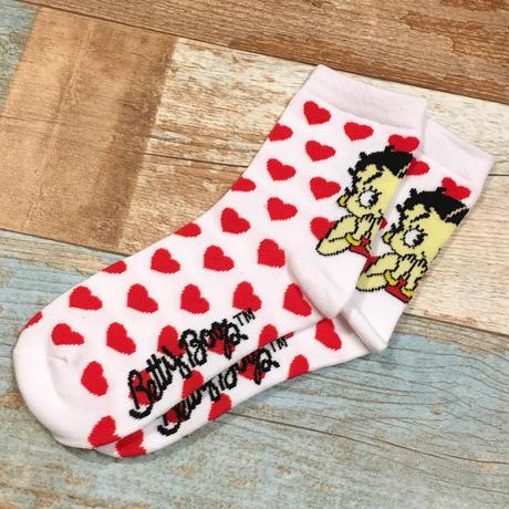 Betty Boop Socks Heart