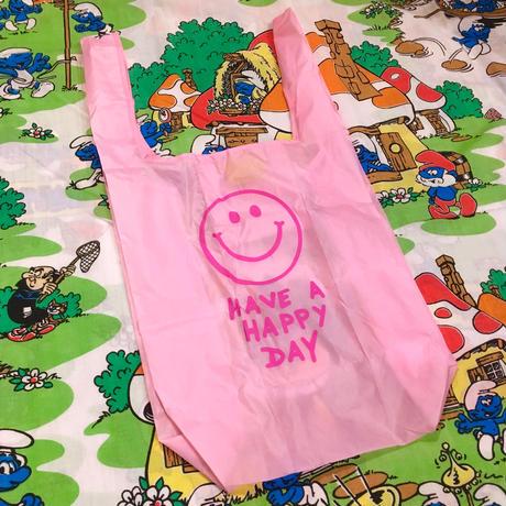 Smile Eco Bag Pink