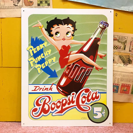 Metal Sign Betty Boop Cola