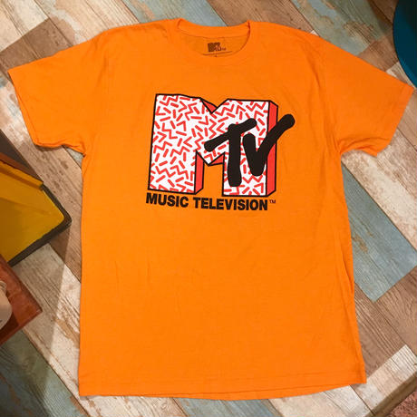 MTV T-shirt Orange