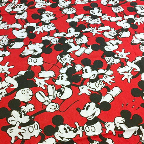 Mickey Mouse Sheet Red