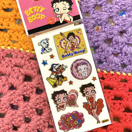 Betty Boop Holographic Sticker C