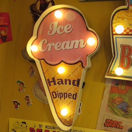 Ice cream Sign Light