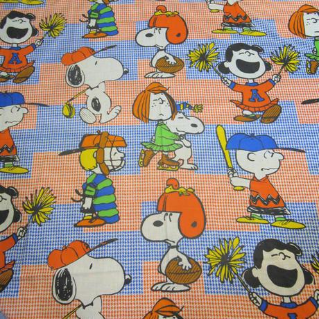 Peanuts Sheet Baseball