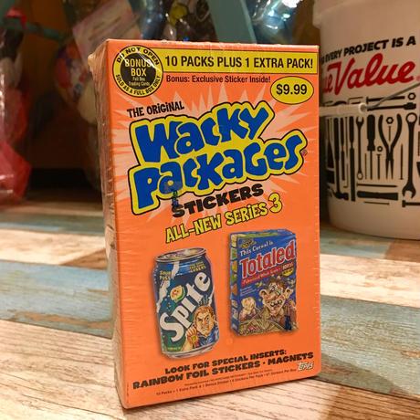 Wacky Package Sticker Bonus Box 2005 MIP