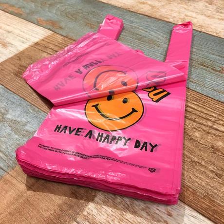Vinyl Bag Smile Pink (S)