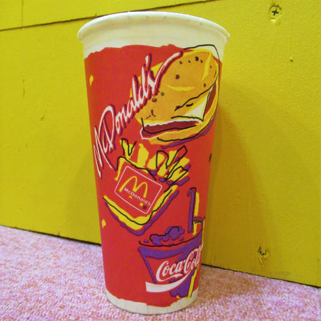 McDonald's Paper Cup  Red