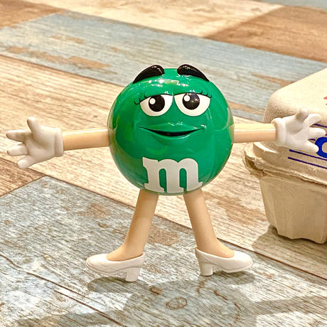 m&m's Figure Green
