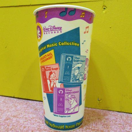 McDonald's Paper Cup  Disney