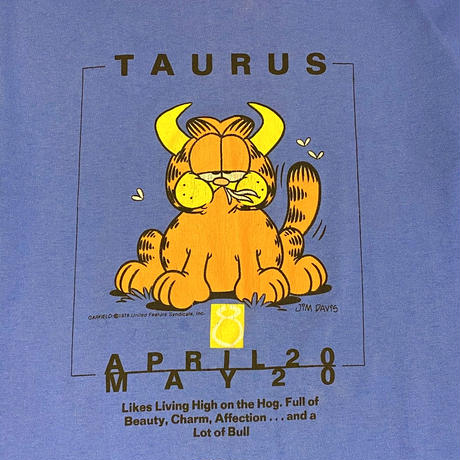 Garfield Big T-Shirt Taurus
