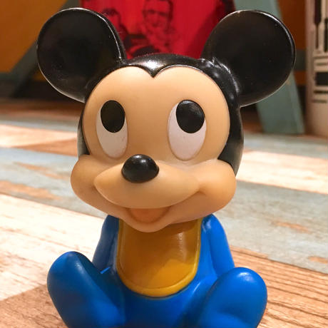 Baby Mickey Mouse Vinyl Doll