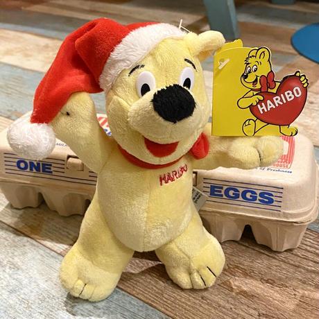 Santa HARIBO Gold bear Plush