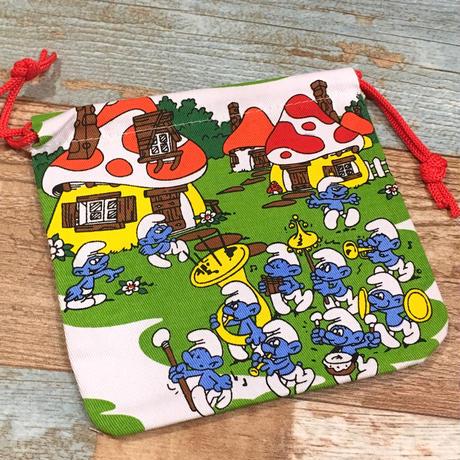 Smurf Drawstring Bag A