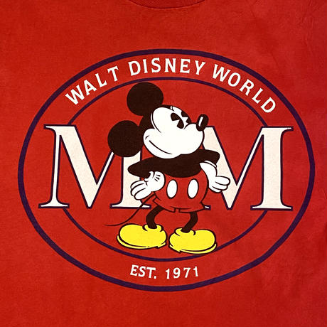 Mickey Mouse T-shirt Red