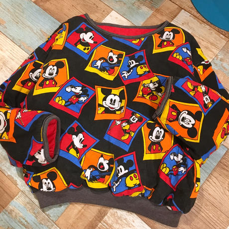 Mickey&Co. Reversible Sweat Black