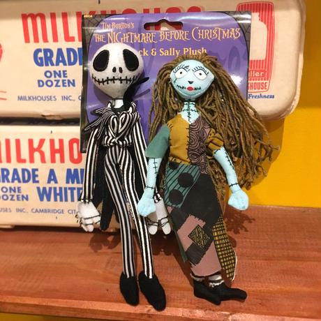 The Nightmare Before Christmas Jack & Sally Plush