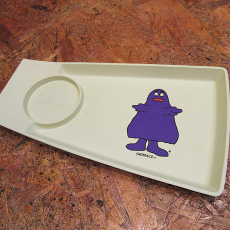 McDonald's Food Tray Grimace
