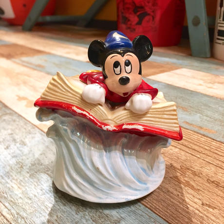 FANTASIA Mickey Mouse Ceramic Music Box