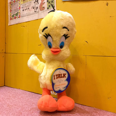 Tweety Mighty Star Talking Plush