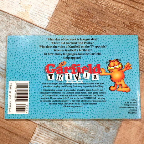 Garfield Trivia Book