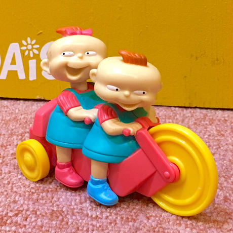 Rugrats Phil&Lil Meal Toy