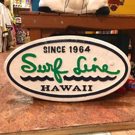 Surf Line Hawaii Store Sign