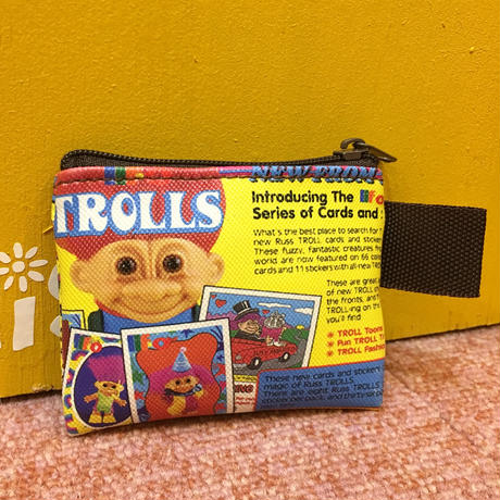 Mini Pouch Troll Yellow