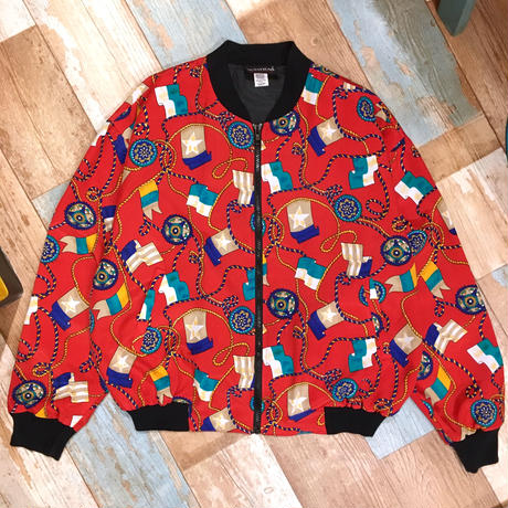Red Rétro Jacket