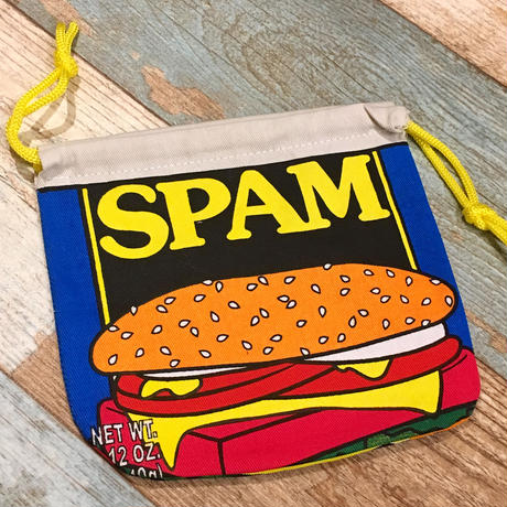 SPAM Drawstring Bag