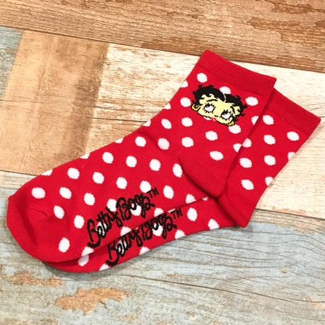 Betty Boop Socks Dot