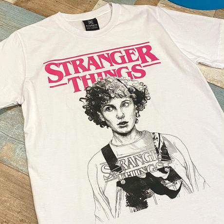 STRANGER THINGS T-Shirt Eleven Pink