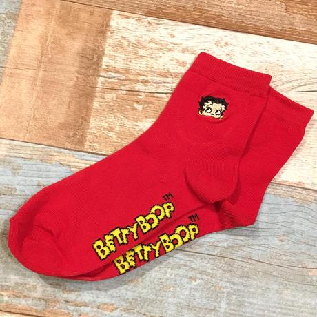 Betty Boop Socks Red