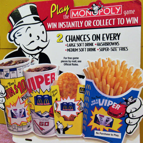 McDonald's Board MONOPOLY