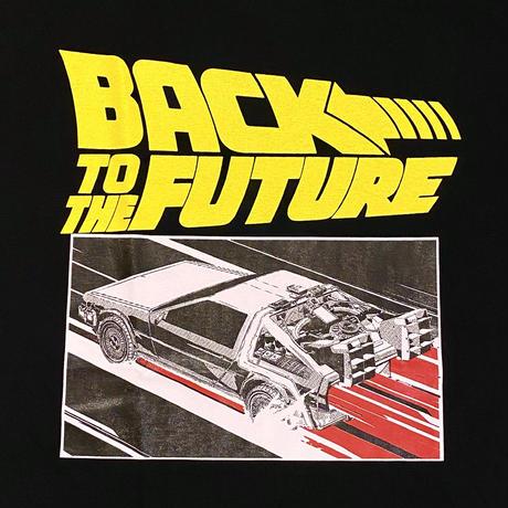 Back to the Future T-Shirt Black