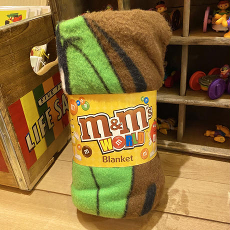 m&m's fleece blanket