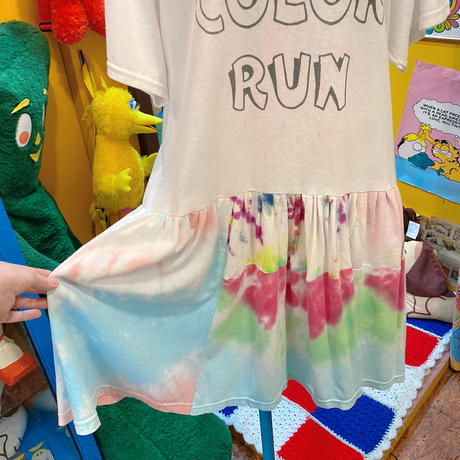 Color Run Remake Dress