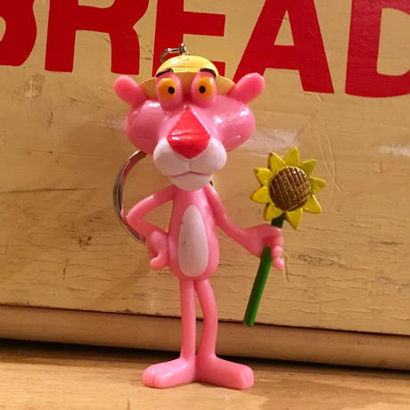 Pink Panther Keychain Sunflower
