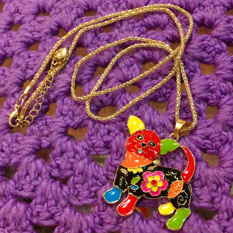 Colorful Necklace Dog D