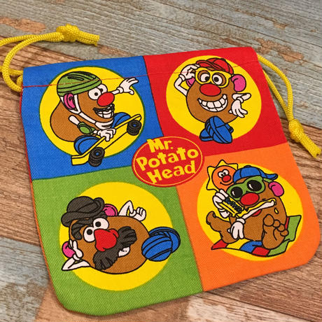 Mr.Potato Head Drawstring Bag
