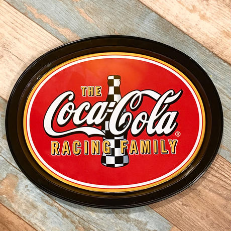 Coca Cola Nascar Metal Tray